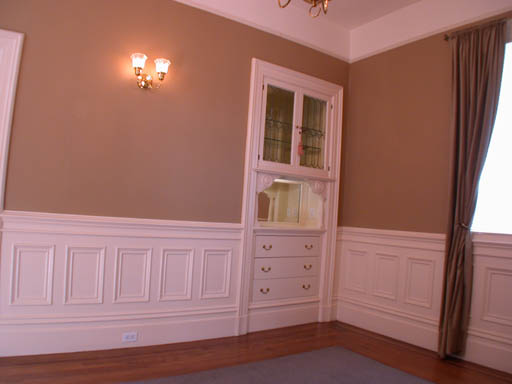 16 Dining Room   Built In Hutch
